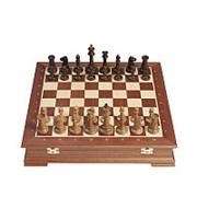 Шахматы Стаунтон Махагон фото