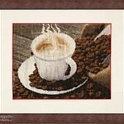 Набор для вышивания Ароматный кофе фото