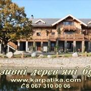 Эксклюзивные деревянные дома фото