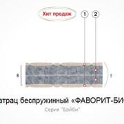 Матрац беспружинный Фаворит-Био 140х60 фотография