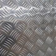 Алюминиевый лист рифленый от 1,2 до 4мм, резка в размер. Гладкий лист от 0,5 до 3 мм. Доставка по всей области. Арт-724 фото