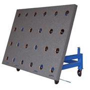 Столы для раскроя листового стекла фото