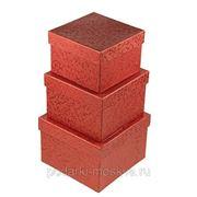 """Комплект коробок из 3шт. """"Кораллы"""" 250-009 фото"""