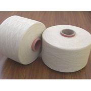 100% хлопчатобумажная пряжа кольцепрядильная для ткачества и трикотажа фото