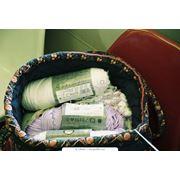 Текстиль и кожа. Волокна пряжа нити текстильные. Волокна пряжа нити хлопчатобумажные и лубяные. Пряжа ткацкая. фото