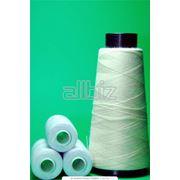 Волокна пряжа нити хлопчатобумажные и лубяные фото