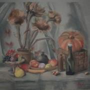 Картина,,Осенний натюрморт,, 2011г. фото