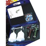 Краскораспылители в чемодане DK-519 T1, DK-519 T2, DK-519 H1. фото