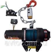 Лебедка быстросъемная электрическая 3500 Lb 12V синтетика фото