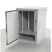 Шкаф уличный всепогодный 24U (800х1000), передняя дверь вентилируемая фото