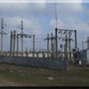 Монтаж подстанции электросетей в пгт. Брилёвка, Цюрупинский р-н фото