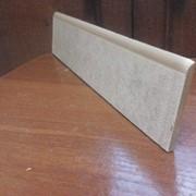 Порезка керамогранита, плинтус под лак 30 см фото