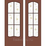Витражи для межкомнатных дверей DG-158 фото