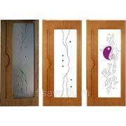 Витражи для межкомнатных дверей DP-40 фото