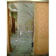Витражи для межкомнатных дверей DP-46 фото