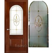 Витражи для межкомнатных дверей DG-40 фото