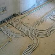 Полная или частичная замена проводки в квартире фото