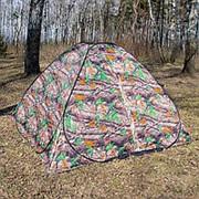 Палатка летняя Автомат КМФ, 2,5 м х 2,5 м фото