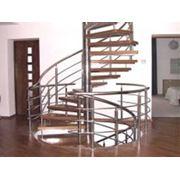 Лестницы винтовые деревянные фото