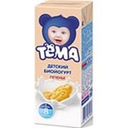 Йогурт питьевой ТЕМА чернослив, 2,8% 210г фото