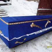 Гроб деревянный Бархат фото