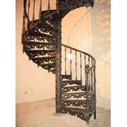 Кованная лестница фото