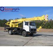 автокран грузоподъемностью 15 тонн на шасси маз-5340В2 Машека КC-3579-8-02 фото