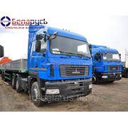 тягач маз на рессорной подвеске МАЗ-6430В9-1420-010 с мотором Е-4 в Красноярске фото