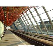 Стройматериалы: Металлоизделия строительного назначения: Сборные металлические сооружения: Здания из легких металлоконструкций. фото