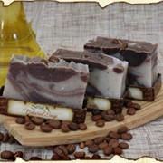 Мыло-скраб для тела шоколадно-кофейный фото