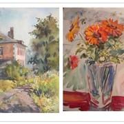 Уроки масляной живописи, акварель и пастель фото