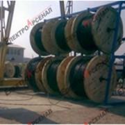 Стеллажные системы для кабельных бухт, барабанов ССКБ наклонная фото