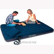 Двухспальный надувной матрас Intex 68765 - 152 Х 203 Х 22см фото