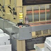 2-ух красочная печатная машина ADAST Dominant 725 1992 г.в. , формат А2 фото