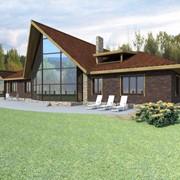 Готовый проект дома площадью 400 м2 фото