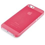 Чехол накладка Baseus Ultra-thin для iPhone 5C Red фото