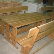 Дубовая и сосновая мебель для дома и сада, ресторана и кафе. Доставка по Украине фото