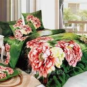 Комплект постельного белья ЕВРО - САТИН 3D А 06-6 фото