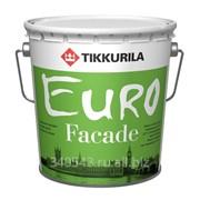 Краска Tikkurila Euro Facade KA 2,7 л фото