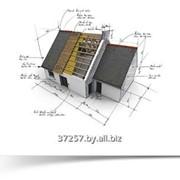 Проекты жилых домов, коттеджей, бань, гаражей. Составление сметы. фото