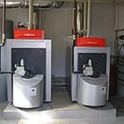 Монтаж напольного конвекционного газового котла мощностью от 60 до 100 кВт фото