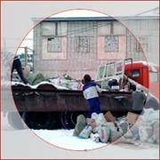 Вывоз мусора в Мариуполе. Услуги грузчиков. До 10 т. фото