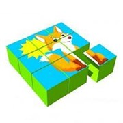 Noname Набор кубиков «Сложи картинку» арт. RiK24845 фото