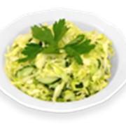 Салат из белокачанной капусты фото
