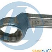 Ключ накидной 32мм РОССИЯ односторонний фото