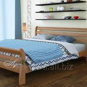 Кровать Соната Люкс 80*200 (Натуральное дерево) фото