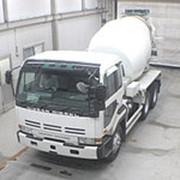 Автобетоносмеситель Nissan UD кузов CW510HN г 1994 миксер MR4520 грузоподъемность 9.92 тн пробег 405 т.км фото