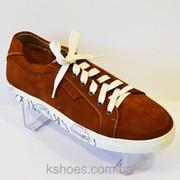 Мужские коричневые туфли Faber 128513 фото