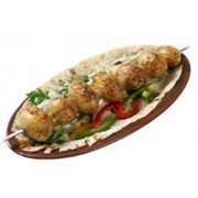 Доставка шашлыков - Шашлык из картошки с курдюком фото