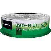 Диск Sony DVD+R DL 8.5Gb (за штуку) фото